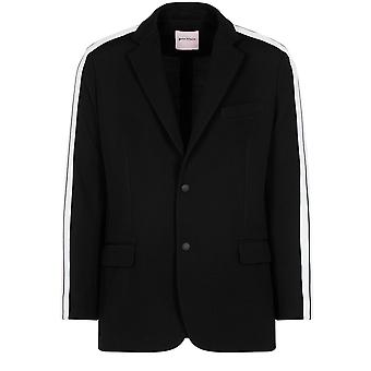 Palm Angels men's PMEF012F170890251000 black polyester Blazer