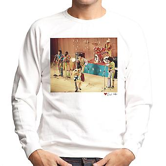 The Jackson 5 At The Royal Variety Performance White Men's Sweatshirt