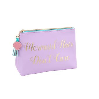 CGB Giftware Cloud Nine Mermaid Hair Dont Care Make Up Bag