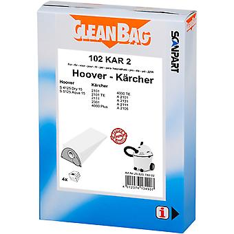 Scanpart Cleanbag 102kar2 Stofzak Karcher 2101-2301