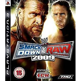 Smackdown vs. Raw 2009 (PS3) (brugt)