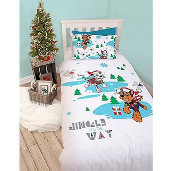 Paw Patrol Dash Single Duvet Cover Set Polycotton