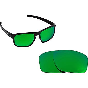 Best SEEK Replacement Lenses Compatible for Oakley SLIVER Green Mirror