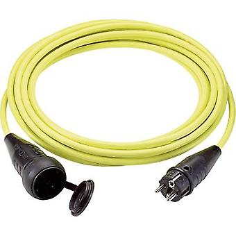 Current Extension cable 16 A Yellow 5 m