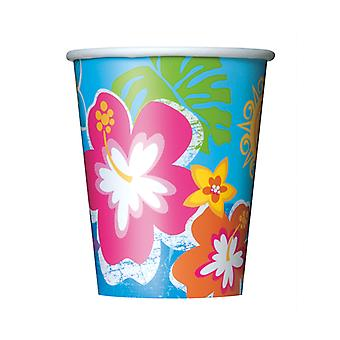 Hula Beach Party Cups 9�