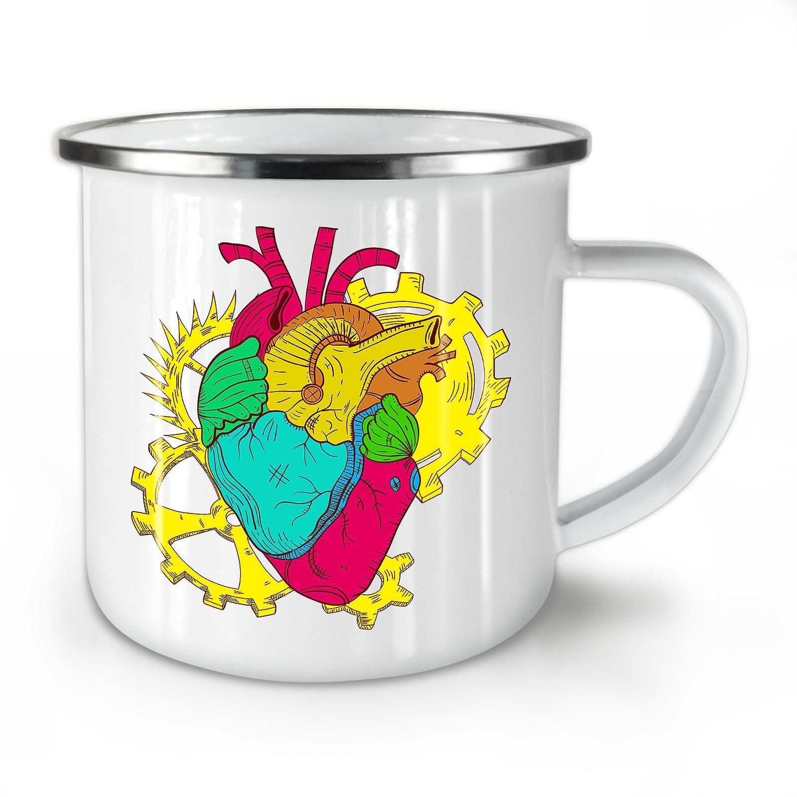 Engineer OzWellcoda New Geek Enamel Coffee Heart Whitetea Mug10 WED2H9IY