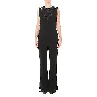 Pinko women's 1G130L6781Z99 black viscose jumpsuit