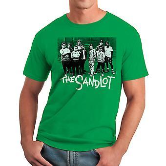 Sand Team mænds Kelly Grøn T-shirt