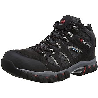 Karrimor Mens Bodmin 4 Mid Waterproof Breathable Mesh Suede Walking Boots