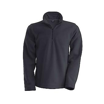 Kariban Mens Enzo 1/4 Zip Up Casual Fleece Jackets