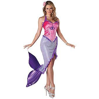 Smukke havfrue prinsesse Ariel Fairytale historiefantasi kvinder kostume