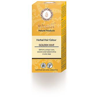 Khadi Herbal Color Rubio Toque Dorado 100 gr (Hair care , Dyes)