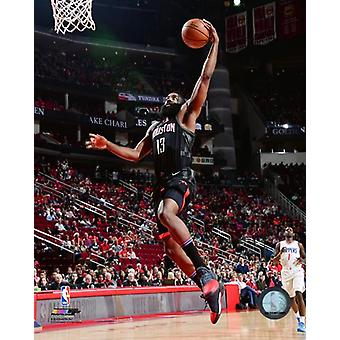 James Harden 2017-18 akcji Photo Print