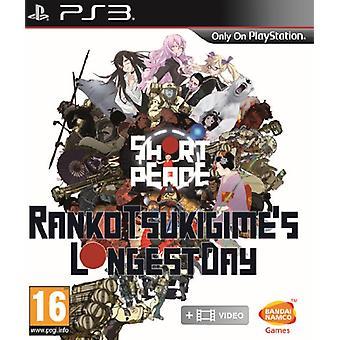 Kort fred Rankos Tsukigimes längsta dagen (PS3)