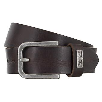 Levi BB´s belts men's belts leather jeans belt Brown 4917