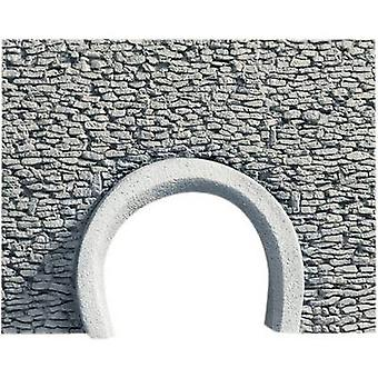 H0 Road portal 2-track HR foam prefab, Painted NOCH 58290