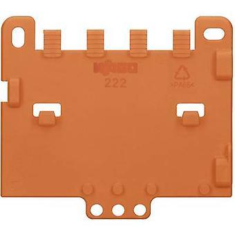 Strain relief plate WAGO 222-505 Orange 1 pc(s)