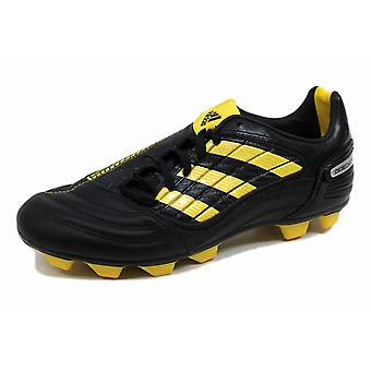 Adidas P Absolado X Fg J Black/Yellow-Metallic Silver G14222 Grade-School