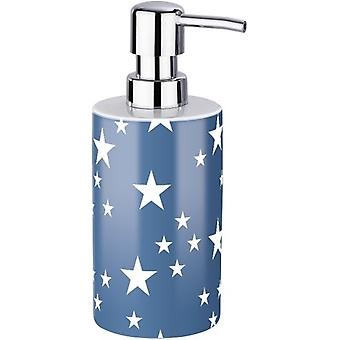 Wenko Ceramic Soap Dispenser Stella dark blue