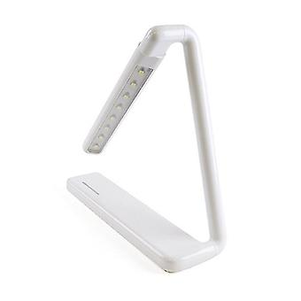 Lloytron L1616WH 2w LED 'Gamma' Rechargeable Touch Study Desk Top Lamp - White