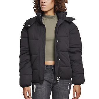 Urban classics dames - veste d'hiver tampon hooded copain