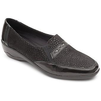 Padders Opal Womens Stud Detail Slip-On Shoe