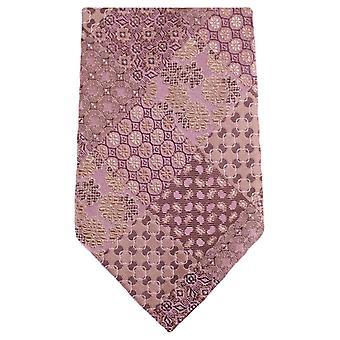 Knightsbridge Neckwear Multi Pattern Floral Tie - Salmon Pink