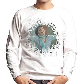 TV Times Liza Minnelli Distressed Edge Effect Men's Sweatshirt