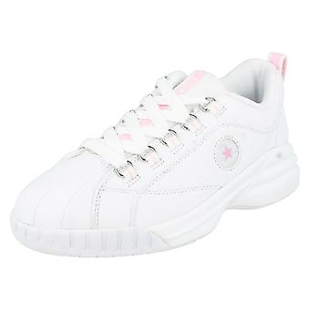 Girls Converse Trainers Cynch Le White/ Pink Size 3