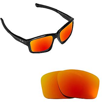 Chainlink Asian Fit Replacement Lenses Polarized Red by SEEK fits OAKLEY
