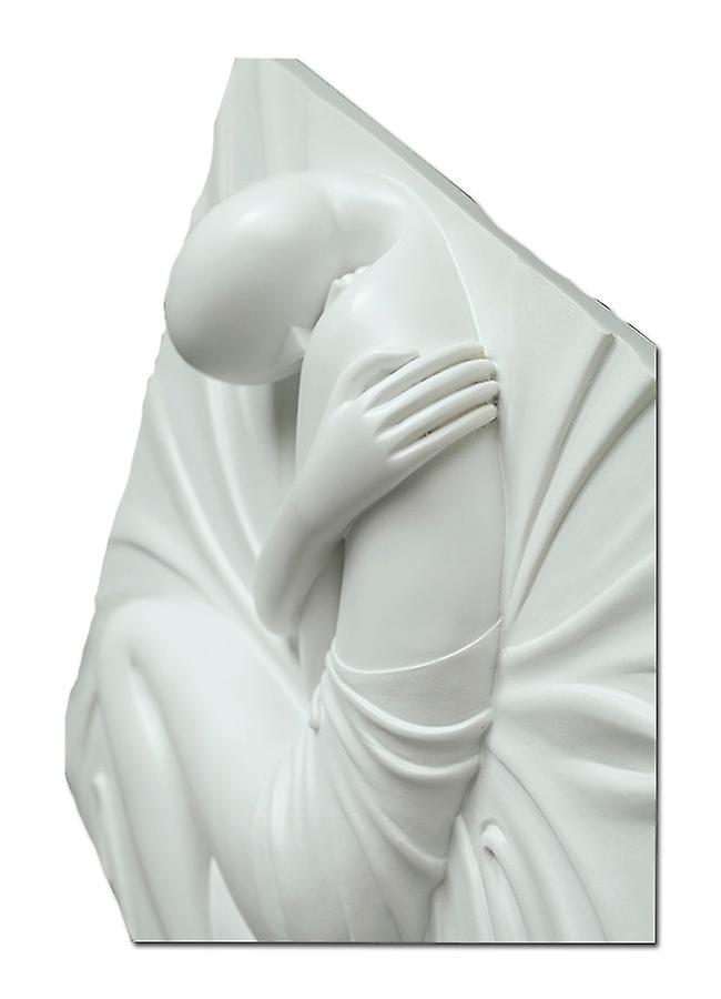A girl sculpture 60 x 60 cm