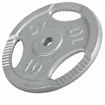 Poids disque avec poign�es de 10 Kg