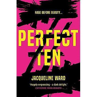 Perfekt tio - en kraftfull - sida-svarvning Läs om en kvinnas söka fo
