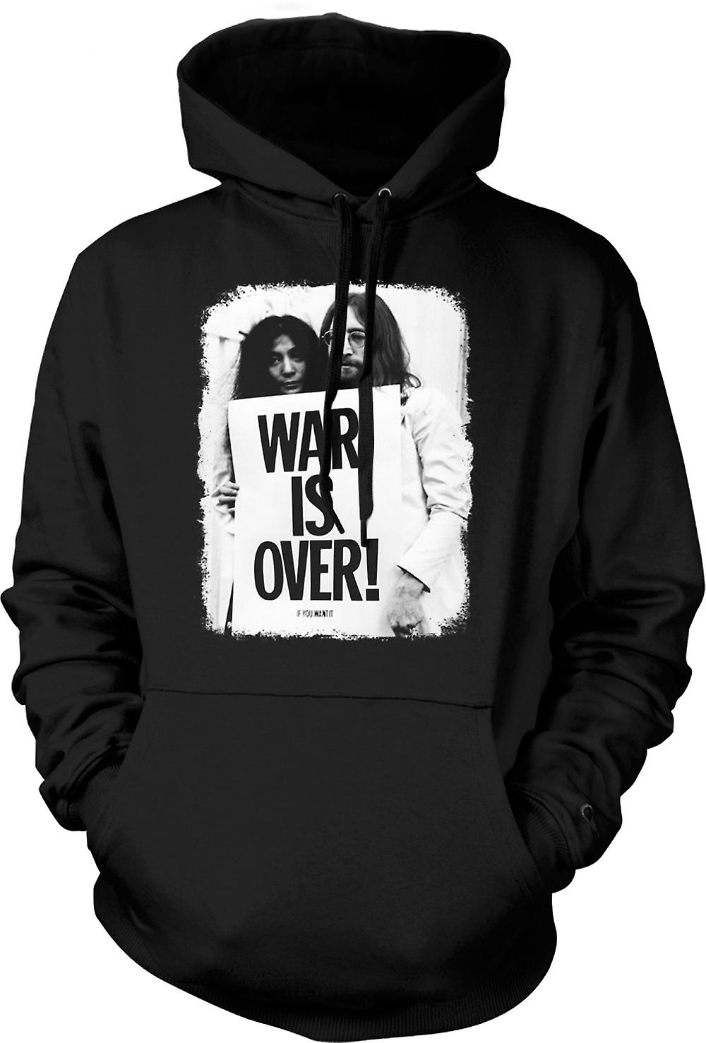 Enfant Sweat Capuche - John Lennon & Yoko - War Is Over