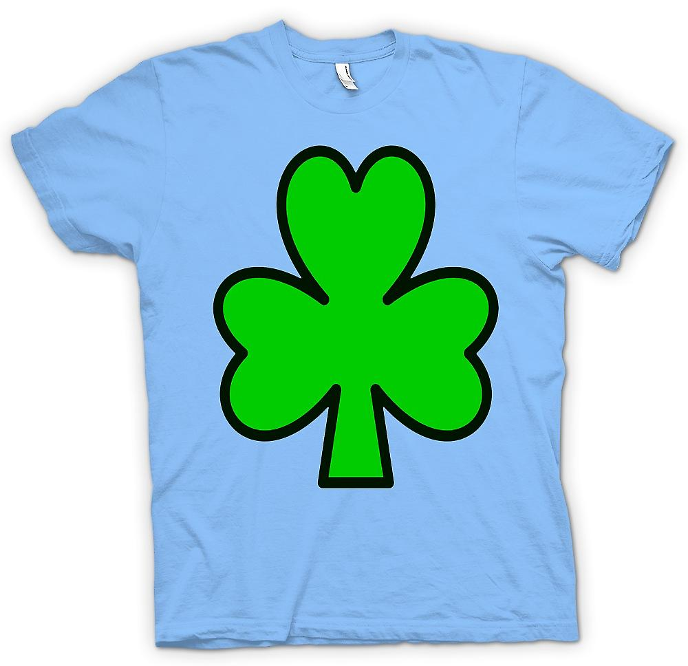 Mens T-shirt - Irish Shamrock - Funny