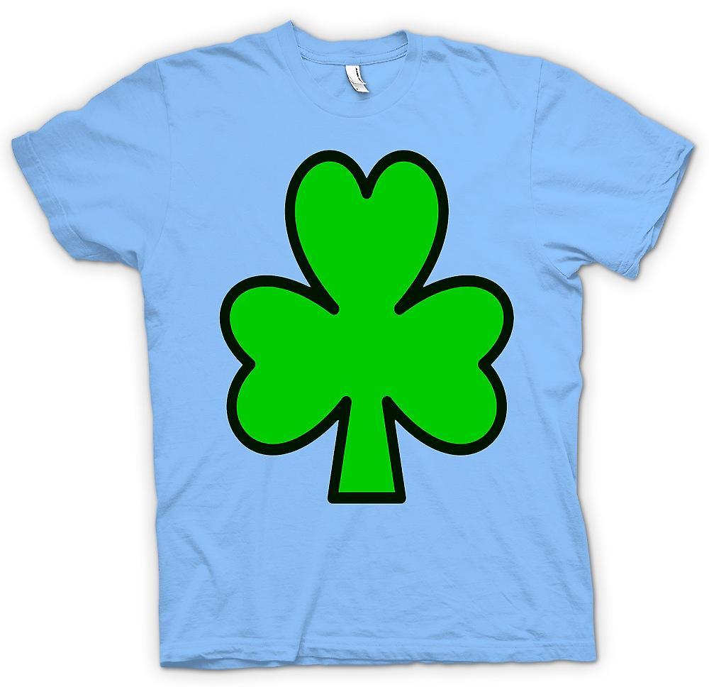 Mens t-skjorte - irske Shamrock - Funny