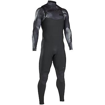 Ion Black-Grey Onyx Amp Semidry 5mm Long Sleeved Wetsuit