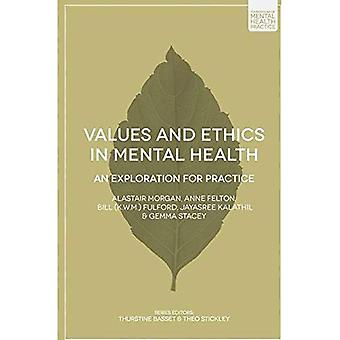 Values and Ethics in Mental Health (Foundations of Mental Health Practice)