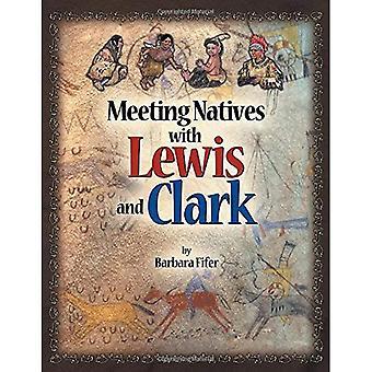 Indigènes de la réunion avec Lewis et Clark