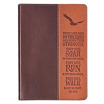 Wings Like Eagles Classic Lux-Leather Journal