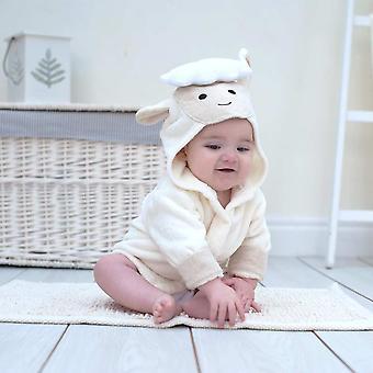 رداء حمام الطفل خروف الربيع