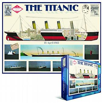 The Titanic 1000 piece jigsaw puzzle   (pz)
