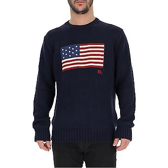 Ralph Lauren Blue Cotton Sweater