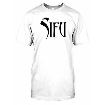Sifu - Chinese woord voor Master Kids T Shirt