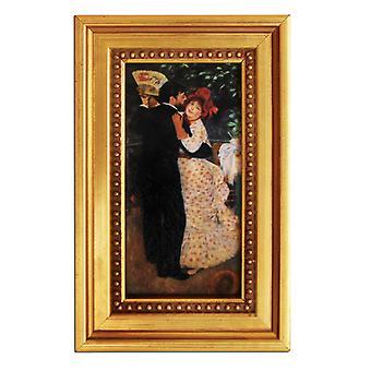 Pierre Renoir, dans i landet, 14 x 7 cm