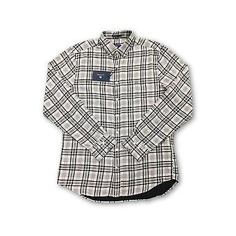 Gant Winter Double Face shirt in grey check