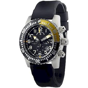 Zeno-watch mens watch airplane diver quartz chronograph 6349Q-Chrono-a1-9