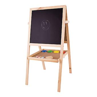 Bigjigs Toys Children's Junior Art Easel Chalks Paint Painting Board Creative