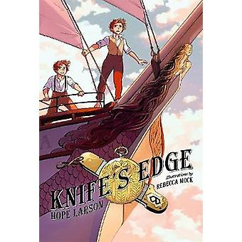 Knife's Edge - A Graphic Novel - Book 2 - Four Points by Hope Larson - R