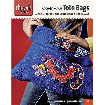 Easy-To-Sew Totes - Make Shoppers - Shoulder Bags & Carry-Alls by Edit